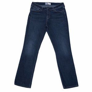 Levis Signature Mid Rise Straight Womens Jeans 10